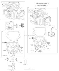 briggs and stratton e parts diagram for cylinder zoom