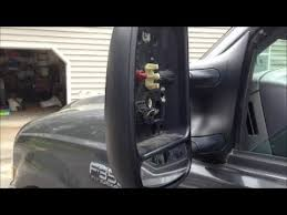 tow mirror repair ford superduty 99 up truck