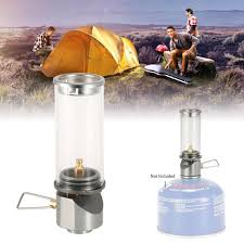 Details About Outdoor Camping Gas Night Lamp Ultralight Portable Tent Lantern Windproof Super