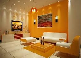 living room paint ideas orange