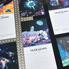 Photo Calander 12 020 Human Space Era Calendar