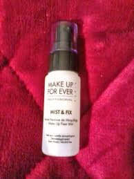 makeup forever mist and fix make up for ever mist fix is the third makeup setting spray i 39 ve