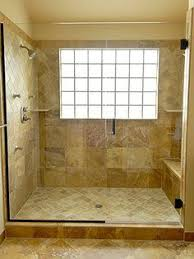 walk in shower designs with a window - Google Search