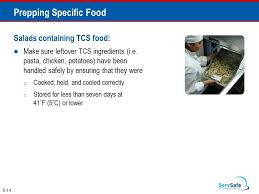 Which Storage Method May Cause Tcs Food To Become Unsafe Cool The Flow Of Food Objectives How To Prevent Crosscontamination