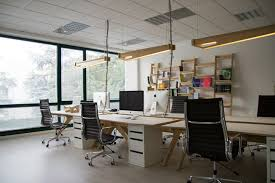 Image Desk Use Designer Lighting Options Available In The Market Which Will Add To The Overall Ambiance Of Your Office Futomic Designs 10 Important Office Design Tips To Boost Creativity