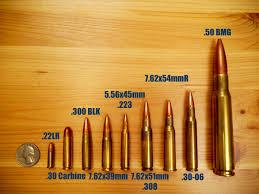 48 Judicious Bullet Caliber Comparison