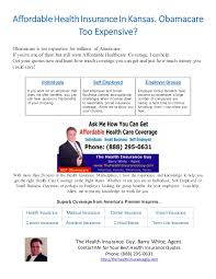 Medical Insurance Quotes Extraordinary The Health Insurance Guy Kansas Insurance Quotes