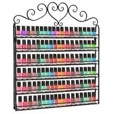 nail polish organizer that holds over 100 bottles of nail polish