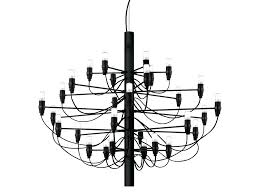 unique gino sarfatti chandelier for created for in by legendary designer this limited edition matt black