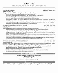 Investment Manager Resume Examples Professional Resume Templates