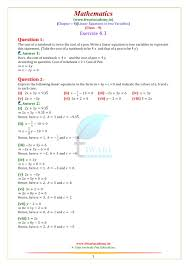 ncert solutions for class 9 maths chapter 4