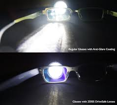 zeiss drivesafe lenses glare comparison 1 zoom in