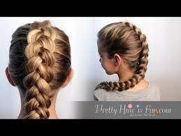 how to dutch braid hair tutorial