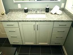 impressive shaker bathroom vanity white style