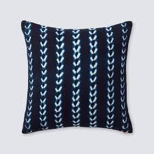 indigo throw pillows. Wonderful Indigo Bakoy Indigo Pillow Throughout Throw Pillows The Citizenry
