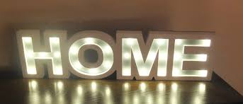 ... Light Up Signs For Home Review White Wooden Light Up Home Sign Fresh  Design ...