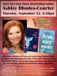Safety Harbor Library to host Author Ashley Rhodes-Courter