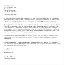 8 Customer Service Cover Letter Examples To Download Sample Templates