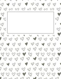 Free Printable Binder Covers Page 8