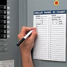 Chart Kit Circuit Panel Id Chart Kit