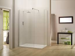 walk in bathroom ideas. Clean Glass Panels And Modern Shower Faucet Used In Interesting Walk Designs For Wide Bathroom Ideas O