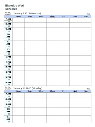 Weekly Task Schedule Weekly Task Planner Template Sample Schedule Documents In