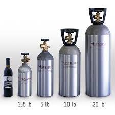 Gas Bottle Sizes Chart Winekeeper 10 Lb Refillable Cylinder Upgrade 16170 Iwa