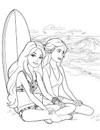 Barbie Coloring Pages Colors Of Pictures