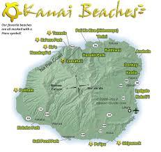 kauaibeachmap × pixels  kauai trip  pinterest