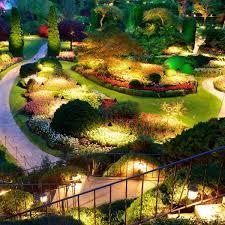 butchart gardens illumination in victoria bc june august