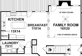 11 Floor Plans That Say U201cCome Over For The Gameu201d  Custom Home TipsFamily Room Floor Plan