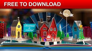 Popup Book Template Christmas Pop Up Book 2 After Effects Template Free Download