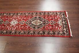 rugsville silk kashmir carpet hand knotted red rug 21433 2 6x12 rugsville ping great deals on hand knotted rug rugsville in