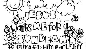 Sunday School Coloring Pages For Preschoolers Preschool School