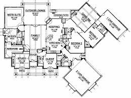 241 best floor plans images on pinterest house floor plans House Plans With 3 Car Garage Apartment ****this is the house**** luxury style house plans 3584 square foot home , 1 story, 4 bedroom and 4 bath, 3 garage stalls by monster house plans plan 3 Car Garage with Apartment Floor Plans