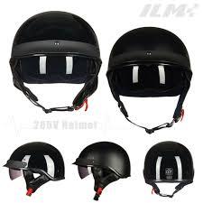 Bieffe Helmet Size Chart Motorcycle Retro Vintage Half Open Face Helmet Sun Visor Dot Approved S M L Xl