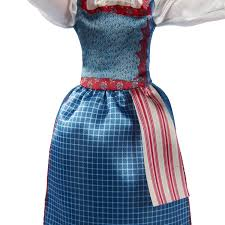 Belle Blue Dress Pattern Interesting Amazon Disney Beauty And The Beast Village Dress Belle Toys