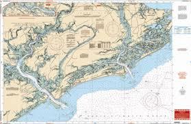 Charleston Nautical Chart Charleston Sc Nautical Chart
