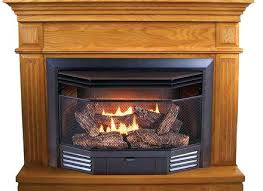 procom gas fireplace dual fuel vent free fireplace with corner procom gas heater thermocouple