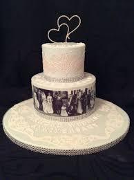 Diamond Wedding Anniversary Cake For My Parents Cake By Judy