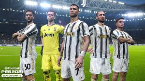(1) extract the file (2) copy cpk file to pro evolution soccer 2020\download (3) generate with dpfilelist generator (4) done! Juventus Konami Clubes Colaboradores Pes Efootball Pes 2021 Season Update Official Site
