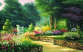 366 garden hd wallpapers background
