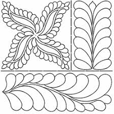 Pepper Cory - Quilt Maker, Quilting Teacher, Quilting Book Author & Continuous Line Fab Feather. C. L. Swallows Stencil Adamdwight.com