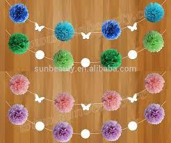 Crepe Paper Flower Balls How To Make Paper Flower Ball Kadil Carpentersdaughter Co