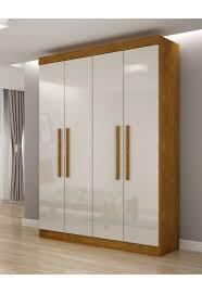 4 Door Cupboard Designs For Bedrooms Roupeiro Espanha 4 Portas Imbuia Rufato In 2019 Bedroom