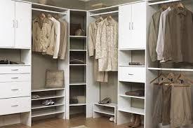 wood closet kits