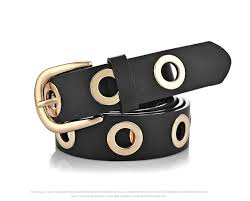 fashion belts for women grommet duo euramerican style designer pu leather strap for las jeans accessories belt buckles for men tool belts from