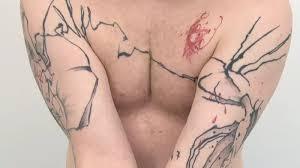 Nové Trendy V Tetování Abstraktní Linky Novinkycz