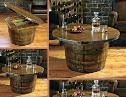reversible reclaimed wine barrel. Whiskey Tables Reversible Reclaimed Wine Barrel Table N Whisky Pub .