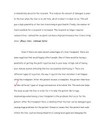 liver transplant essay  4 liver